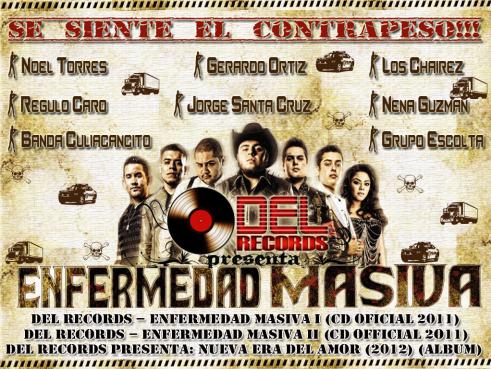 DEL Records - Presenta… Enfermedad Masiva I,II & III